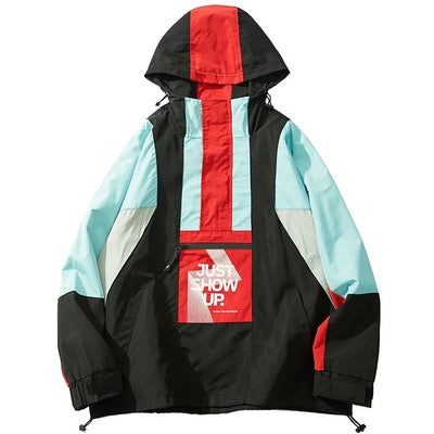 Just Show Up - Windbreaker - DISXENT