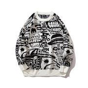 Dark Scull Sweater - DISXENT