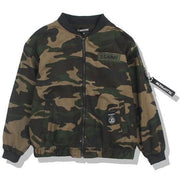 """JD"" Camouflage Bomber Jacket - DISXENT"