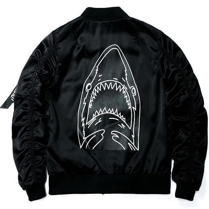 """Shark"" Bomber Jacket - DISXENT"