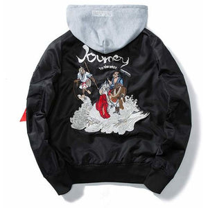"""Journey To The West"" Bomber Jacket - DISXENT"