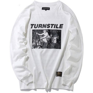 """Turnstile"" Long Sleeve T-Shirt - DISXENT"