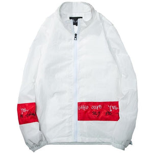 """2 Faces"" Windbreaker Jacket - DISXENT"