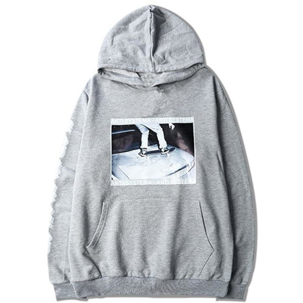 """Skateboard"" Hoodie - DISXENT"