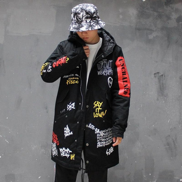 """Talking About"" Trench Coat - DISXENT STREETWEAR"