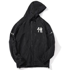"""Kanji"" Windbreaker Jacket - DISXENT"
