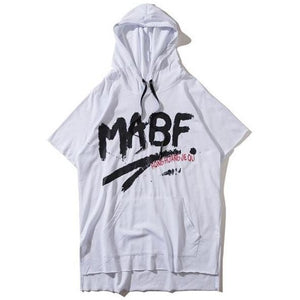 """MABF"" Short Sleeve Hoodie - DISXENT"