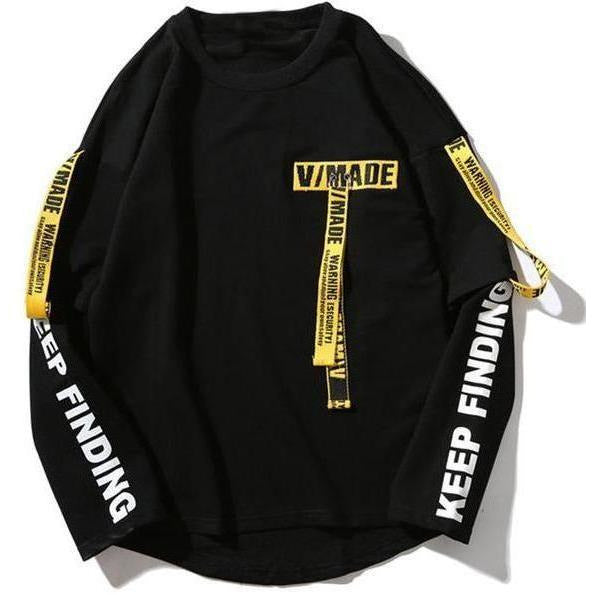 """Keep Finding"" Sweatshirt - DISXENT"