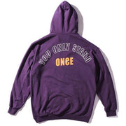 """You Only Stand Once"" Hoodie - DISXENT"