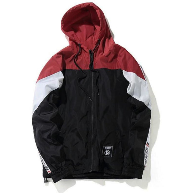 """Fashion Dog"" Windbreaker Jacket - DISXENT"