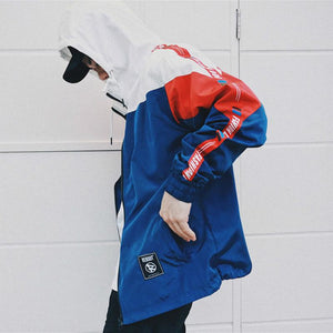 """Fashion Dog"" Windbreaker Hooded Jacket - DISXENT"
