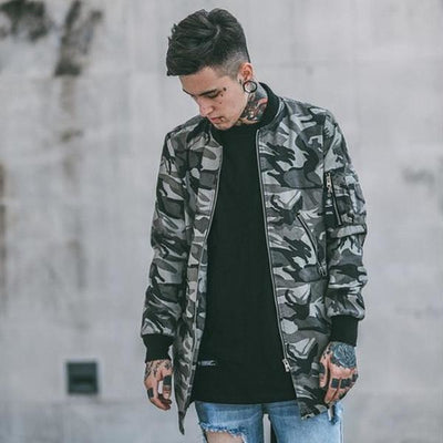 B22 - Military Winter Jacket - DISXENT STREETWEAR