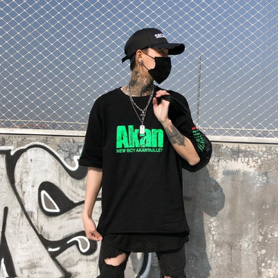 Akanbullet - T-Shirt - DISXENT STREETWEAR