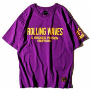 """Rolling Waves"" T-Shirt - DISXENT"