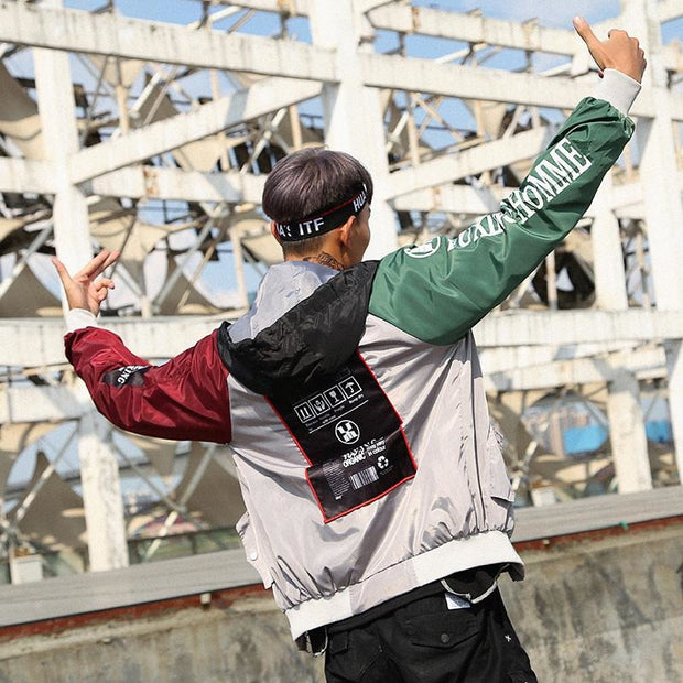 """Homme"" Bomber Jacket - DISXENT STREETWEAR"