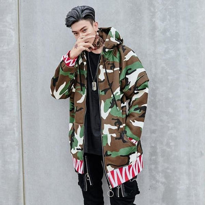 Bad Boy - Camouflage Jacket - DISXENT STREETWEAR