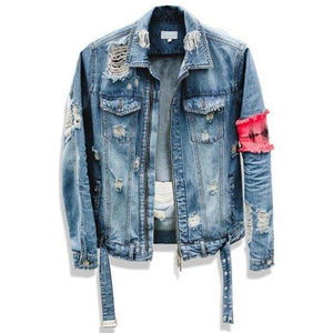 """No Fear"" Denim Jacket"