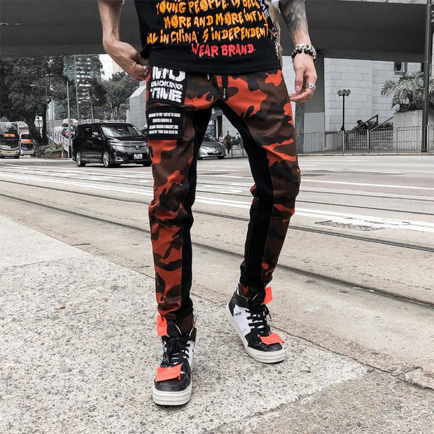 """Smoking Time"" Cargo Pants - DISXENT"