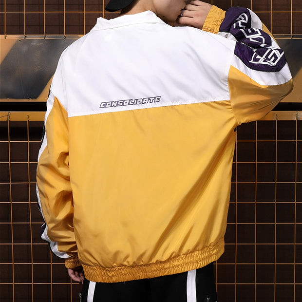 """Consolidate"" Pullover Windbreaker - DISXENT STREETWEAR"