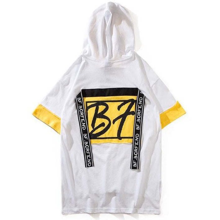 """B7"" Short Sleeve Hoodie - DISXENT"