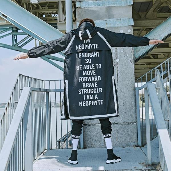 """Neophyte"" Trench Coat - DISXENT"