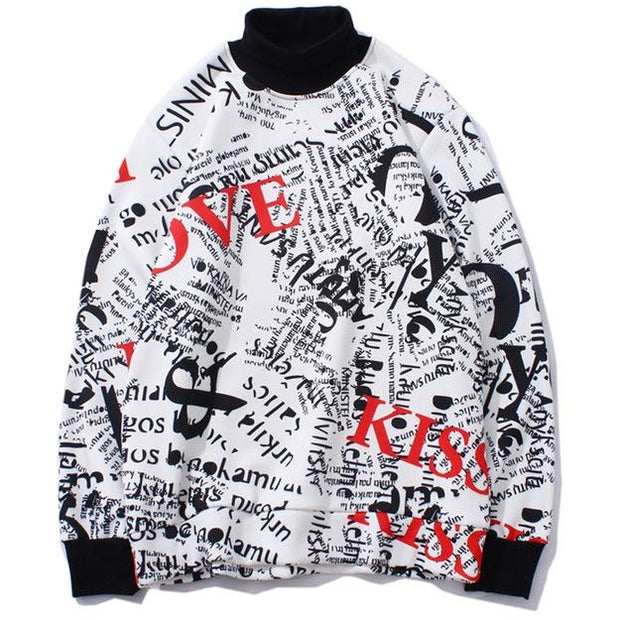 """Graffiti"" Sweatshirt - DISXENT"
