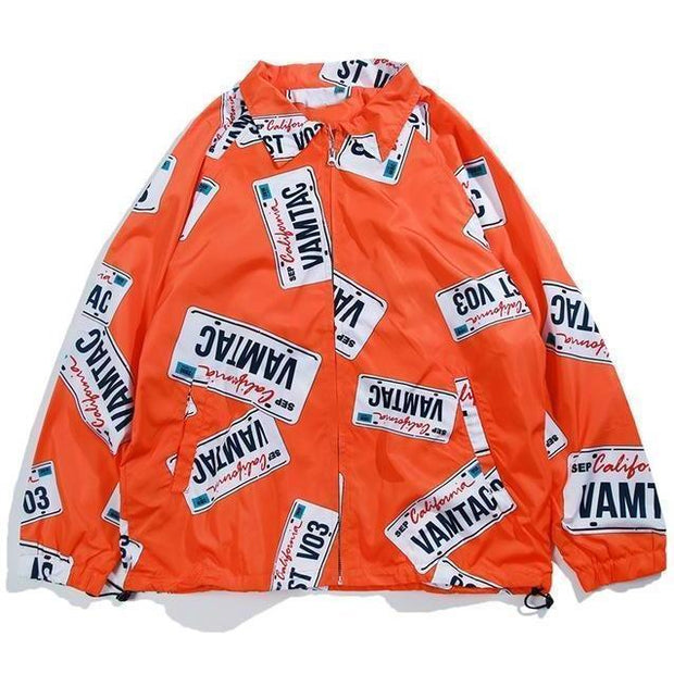 """Streets"" Windbreaker Jacket - DISXENT"