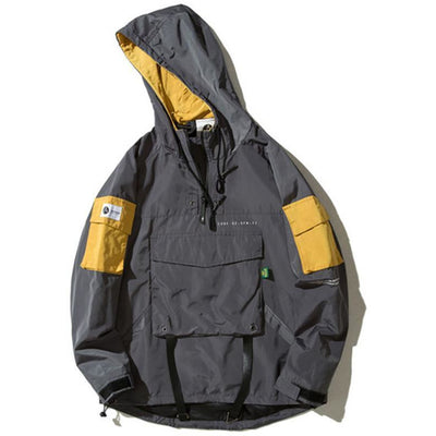 """77"" Pullover Windbreaker Jacket - DISXENT"