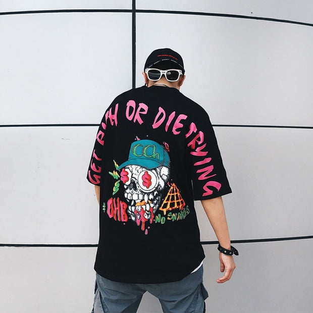 """Get Rich Or Die Trying"" T-Shirt - DISXENT"