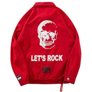 """Let's Rock"" Denim Jacket - DISXENT"