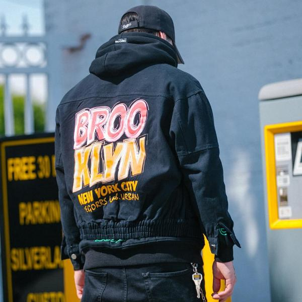 """Brooklyn"" Bomber Jacket - DISXENT"