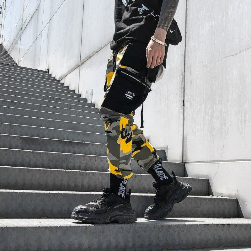 """Rage"" Camouflage Pants - DISXENT"
