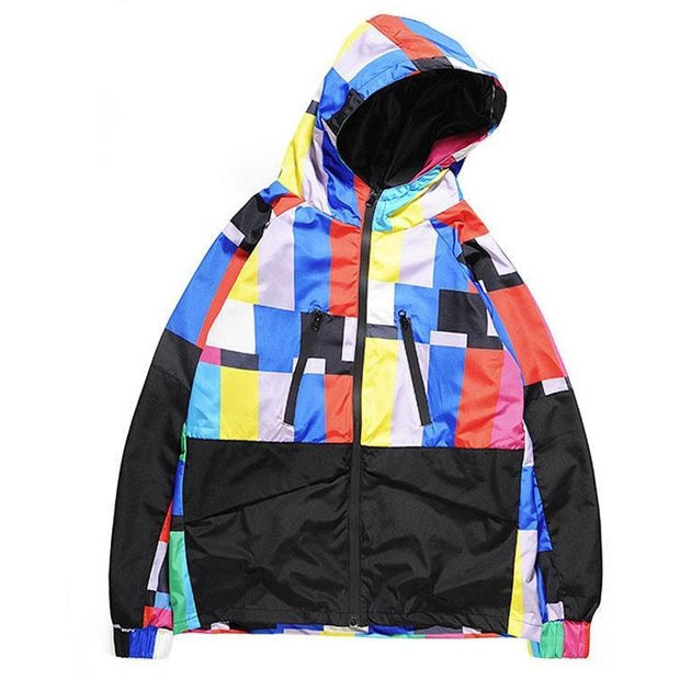 """Disintigration"" Windbreaker Jacket - DISXENT"