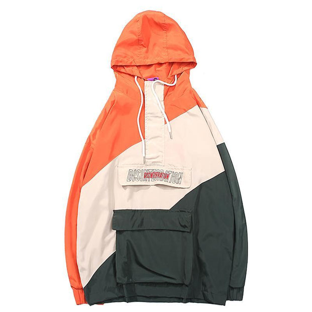 """DSTN"" Windbreaker Jacket - DISXENT"