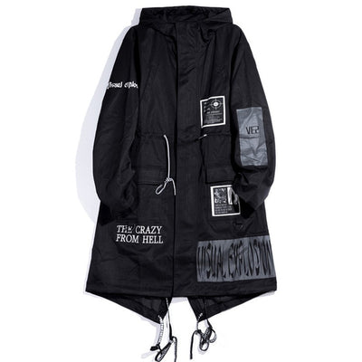 """From Hell"" Trench Coat - DISXENT"