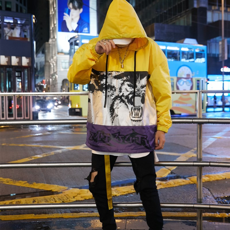 """Panthera"" Pullover Windbreaker - DISXENT"