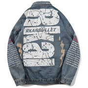 """Rkai"" Denim Jacket - DISXENT"
