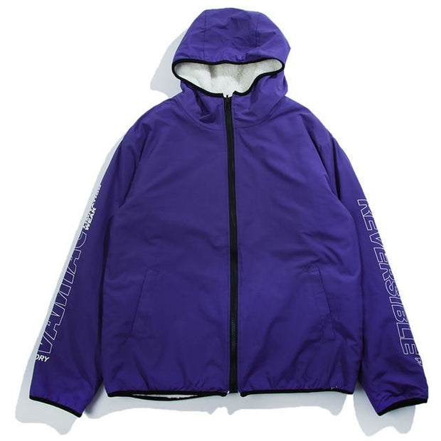 """V"" Reversible Jacket - DISXENT"