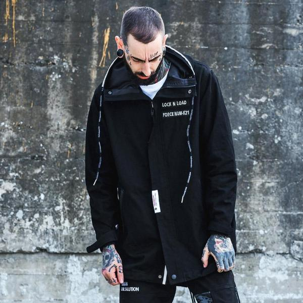 """Lock & Load"" Trench Coat - DISXENT"