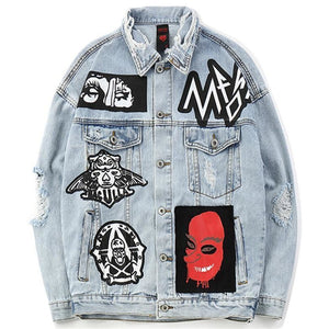 """M.A.D"" Denim Jacket - DISXENT"