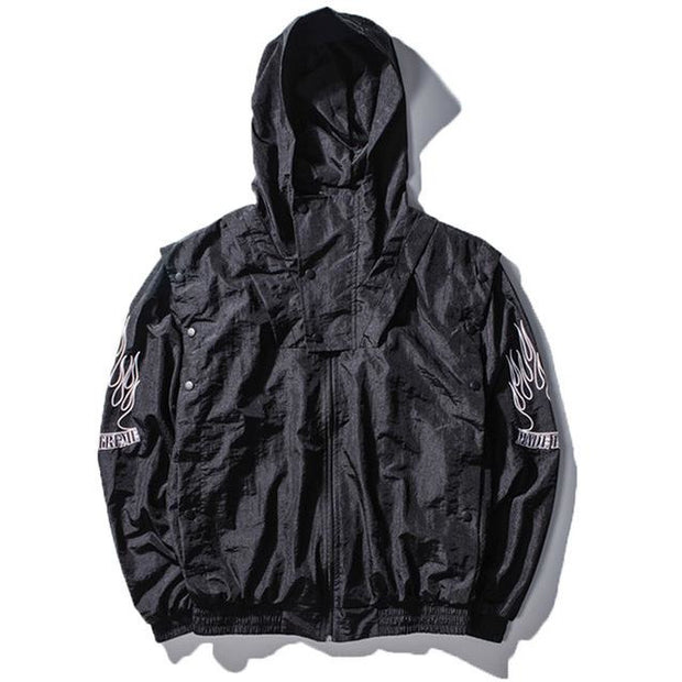 """Made Extreme"" Windbreaker Jacket - DISXENT"