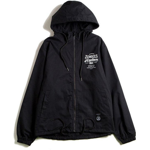 """Zombies"" Windbreaker Jacket - DISXENT STREETWEAR"