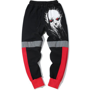 """Psycho"" Reflective Joggers - DISXENT"