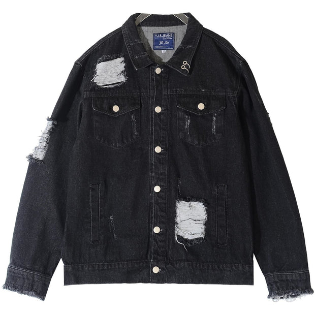 """Character"" Denim Jacket - DISXENT"