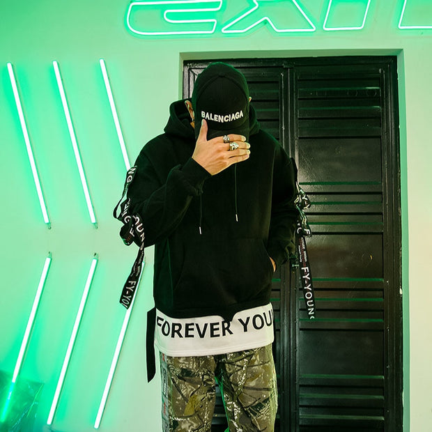 """Forever Young V2"" Hoodie - DISXENT"