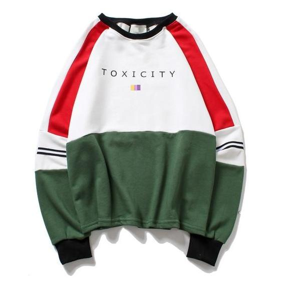 """Toxic City"" Sweatshirt - DISXENT"