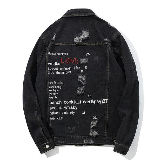 """Swag"" Denim Jacket - DISXENT STREETWEAR"