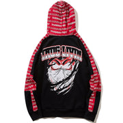 """Thug Livin"" Pullover Hoodie - DISXENT STREETWEAR"