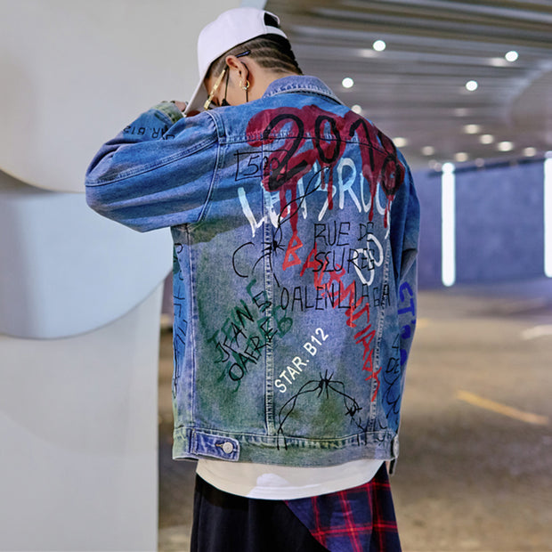 Graffiti - Denim Jacket - DISXENT