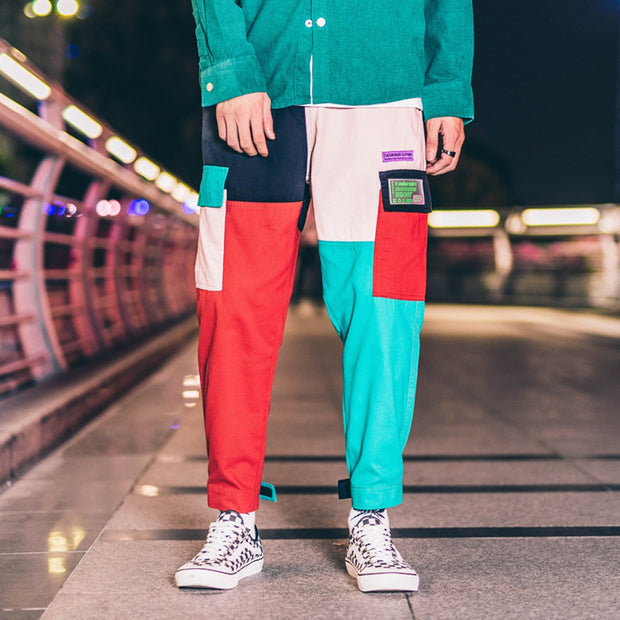 Vintage Block Sweatpants - DISXENT